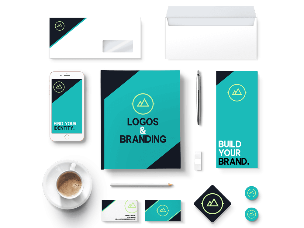 Logo Design and Branding Mock-up
