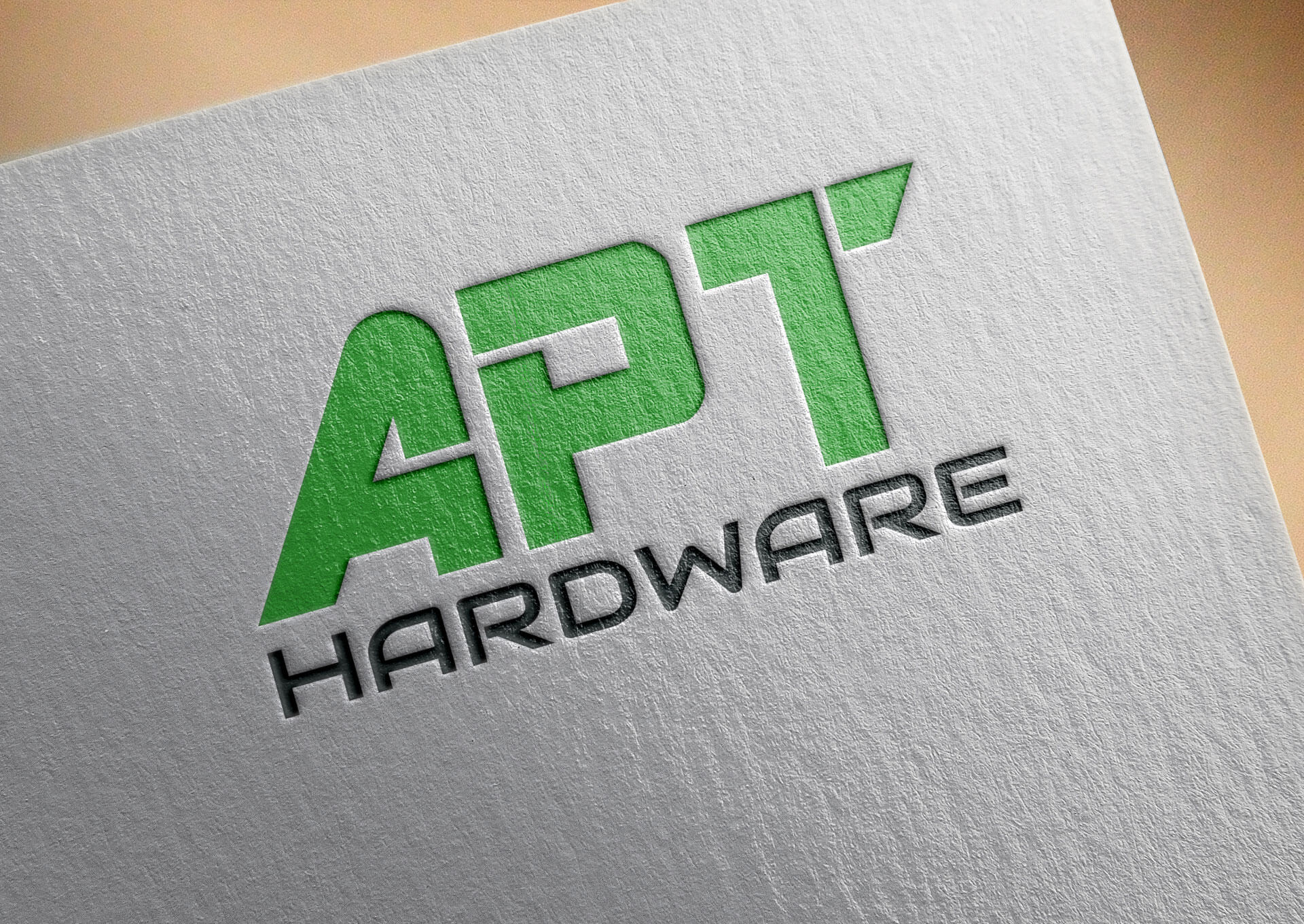 APT Hardware Logo Design