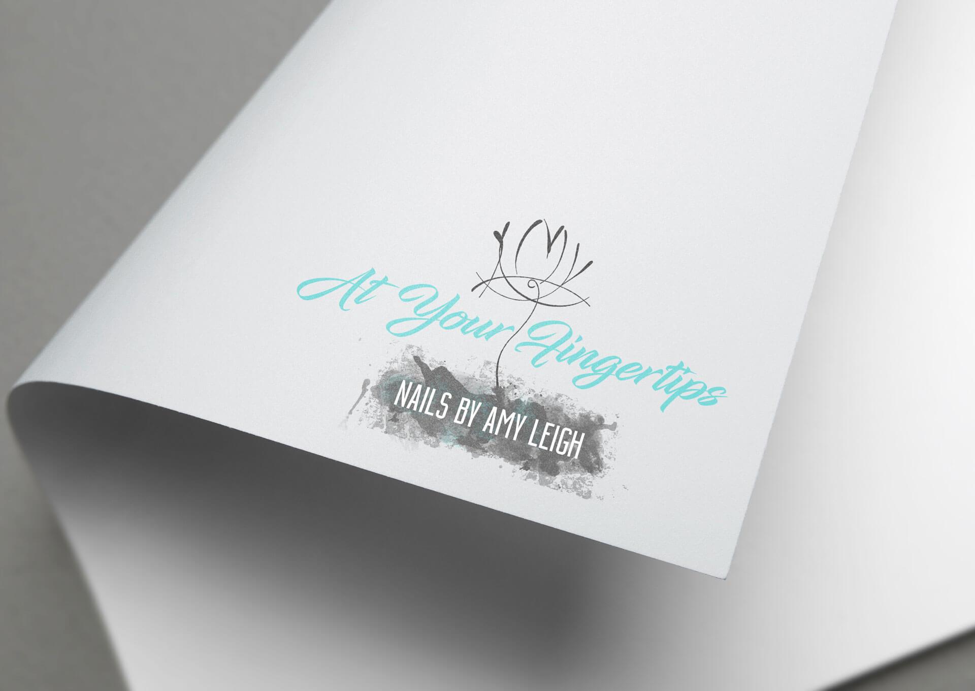 At Your Fingertips Logo Design