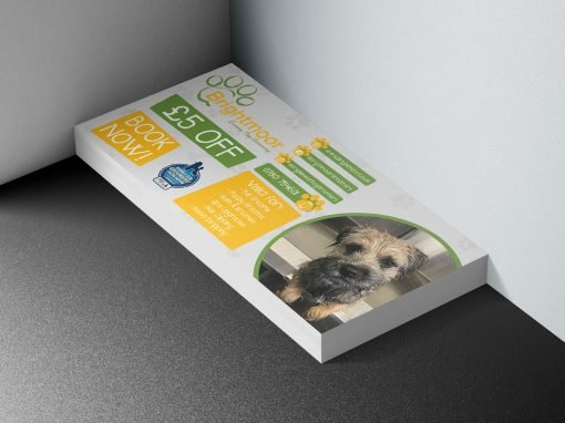 Brightmoor Luxury Dog Grooming | Discount Leaflet