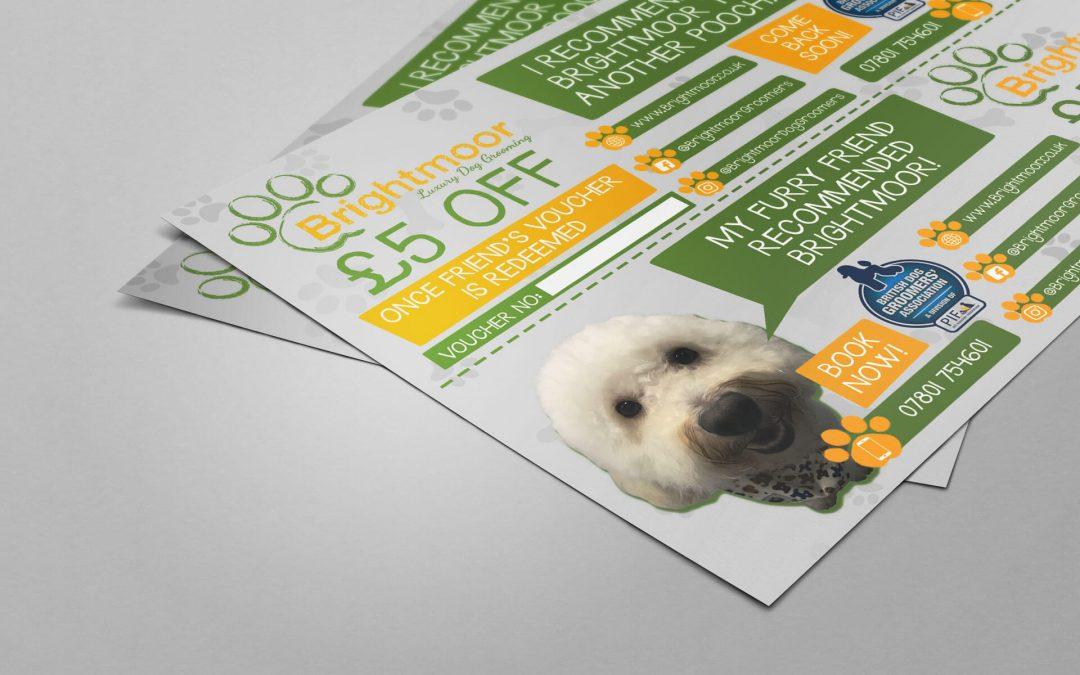 Brightmoor Luxury Dog Grooming | Leaflet
