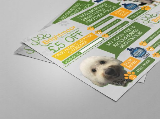 Brightmoor Luxury Dog Grooming | Leaflet