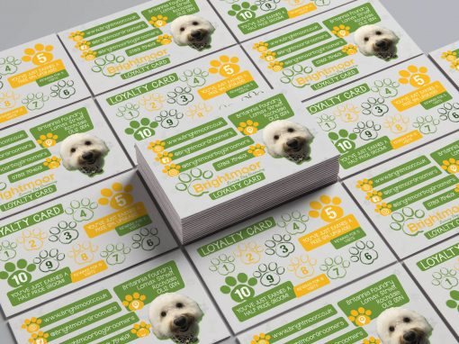 Brightmoor Luxury Dog Grooming | Loyalty Card