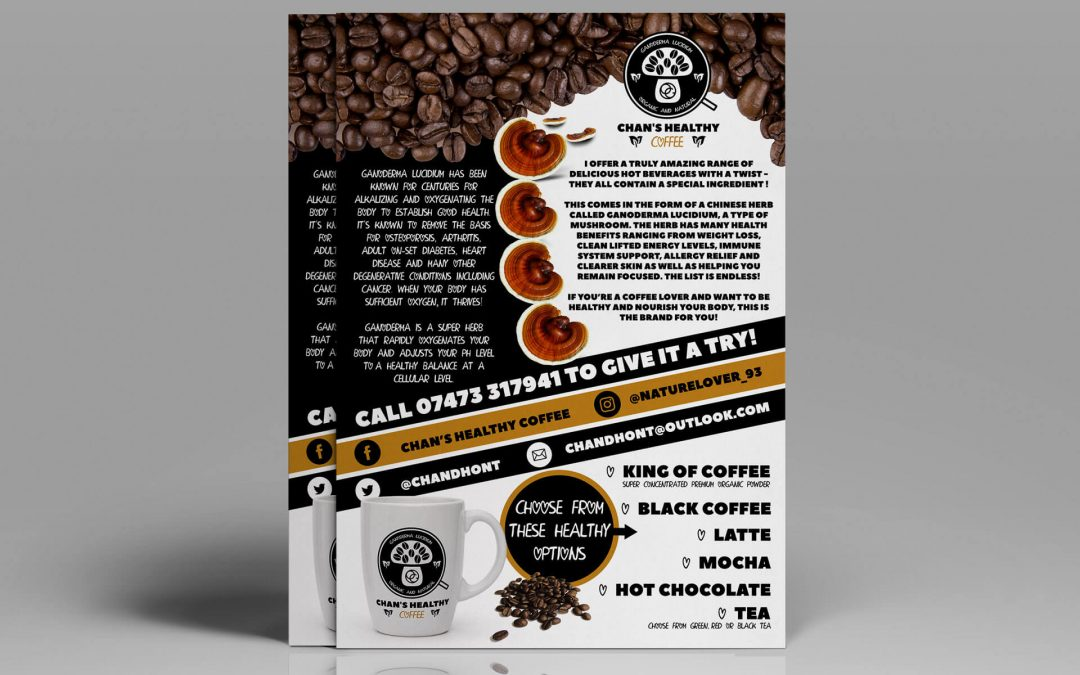 Chan's Healthy Coffee | Leaflet