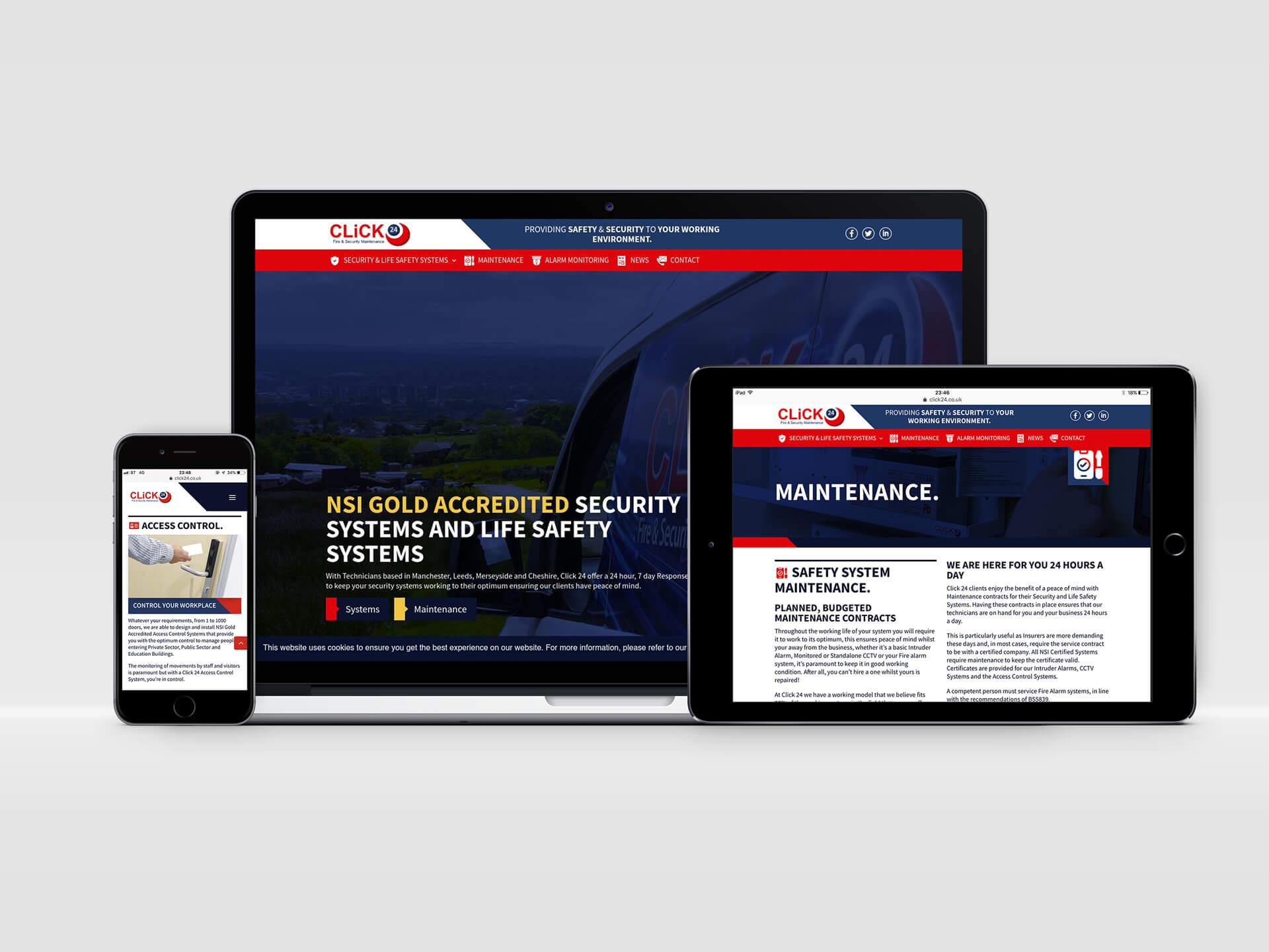 Click 24 Website Design