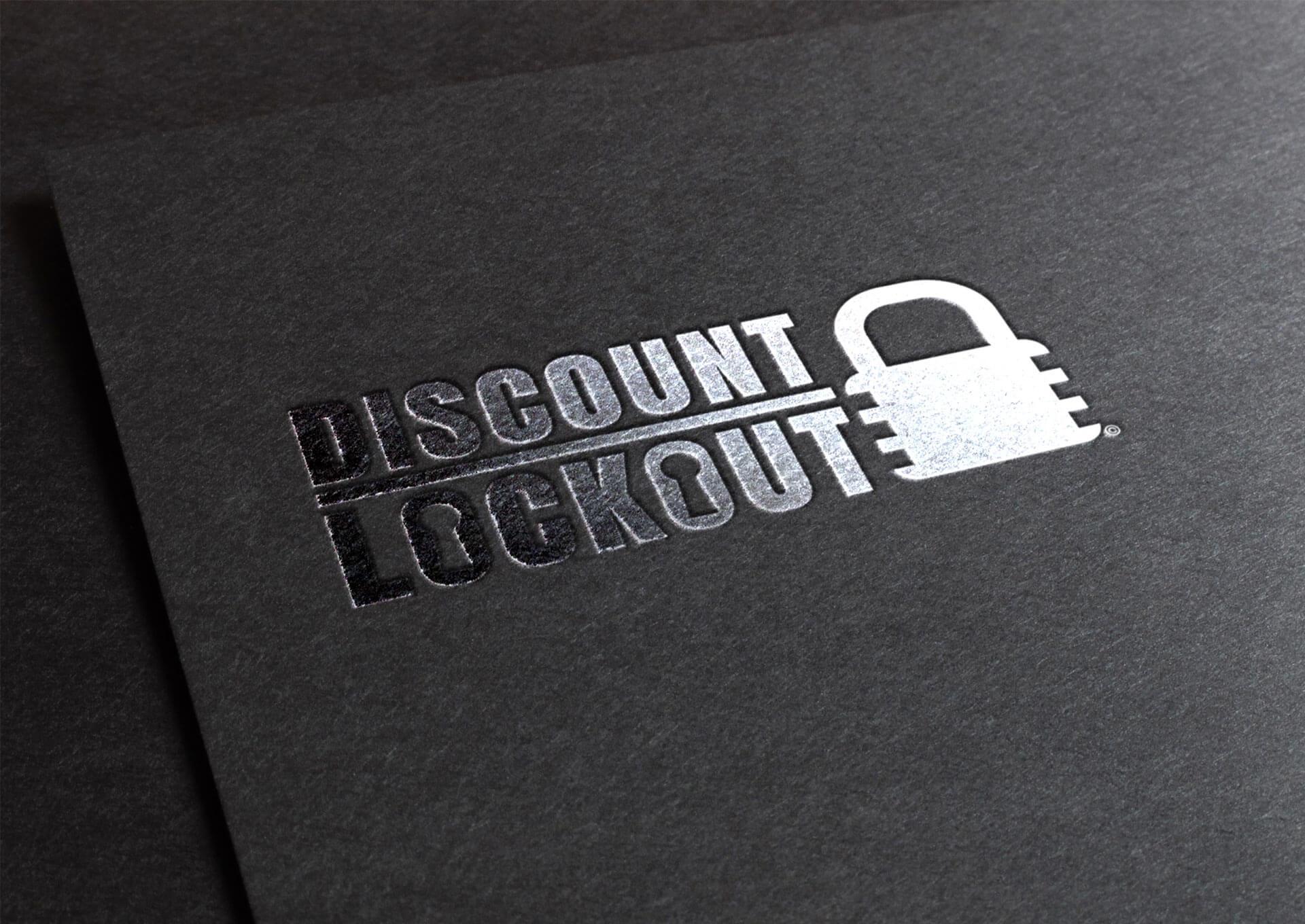 Discount Lockout Logo Design