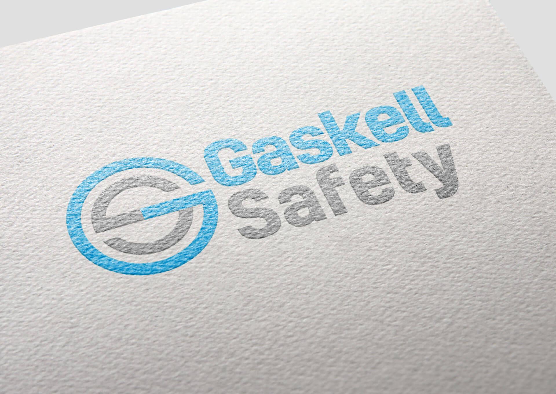 Gaskell Safety Logo Design