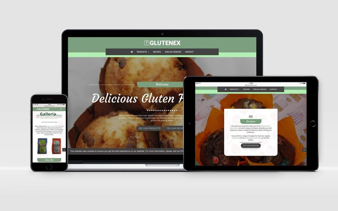 Glutenex | Brochure Website