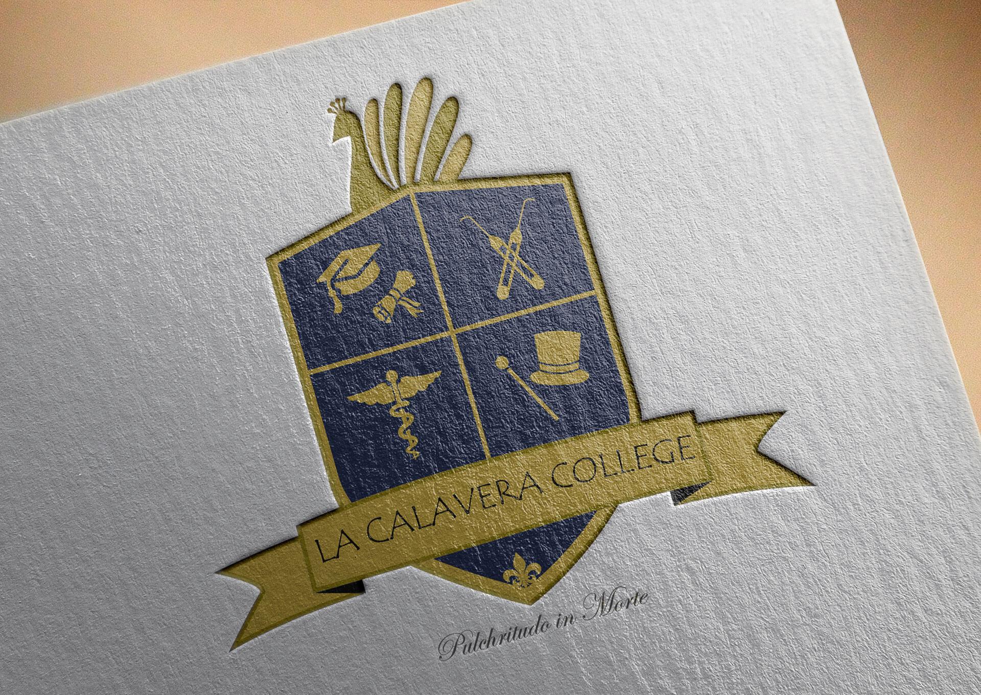 La Calavera College Logo Design