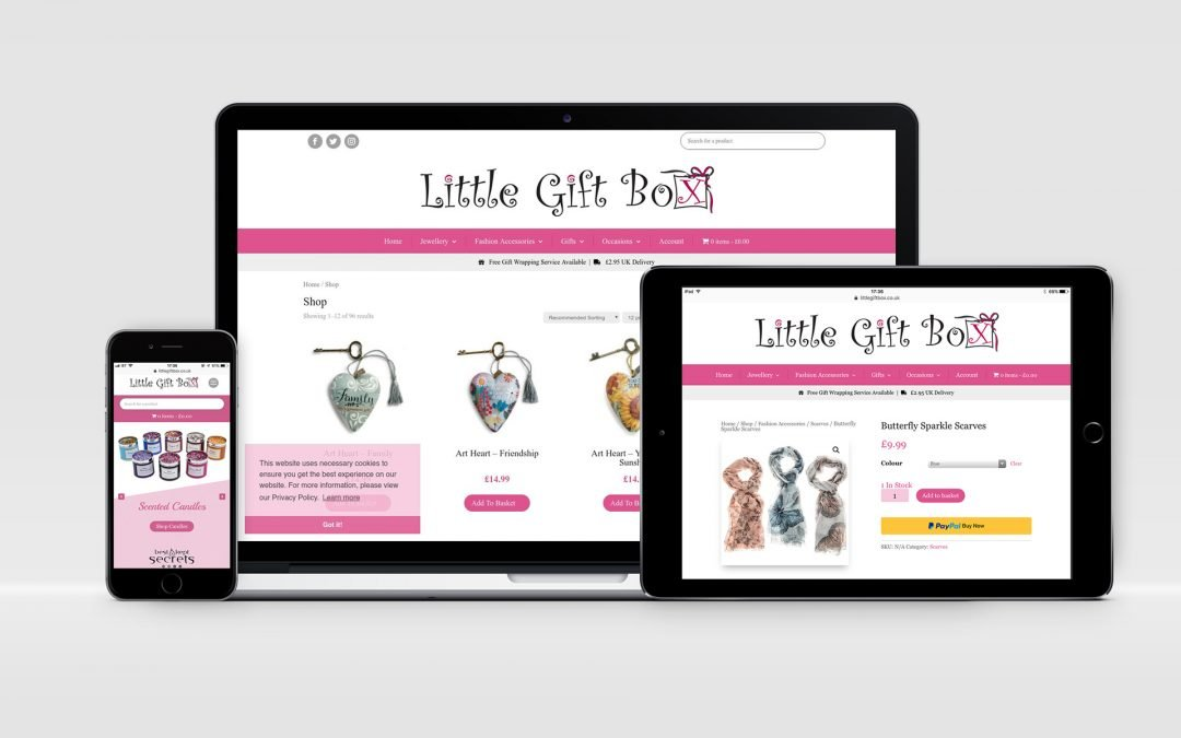 Little Gift Box | E-Commerce Website
