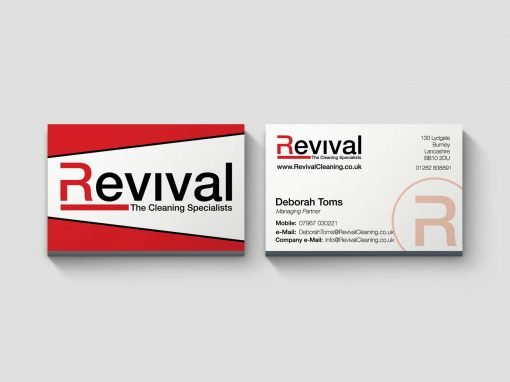 Revival Cleaning | Business Card