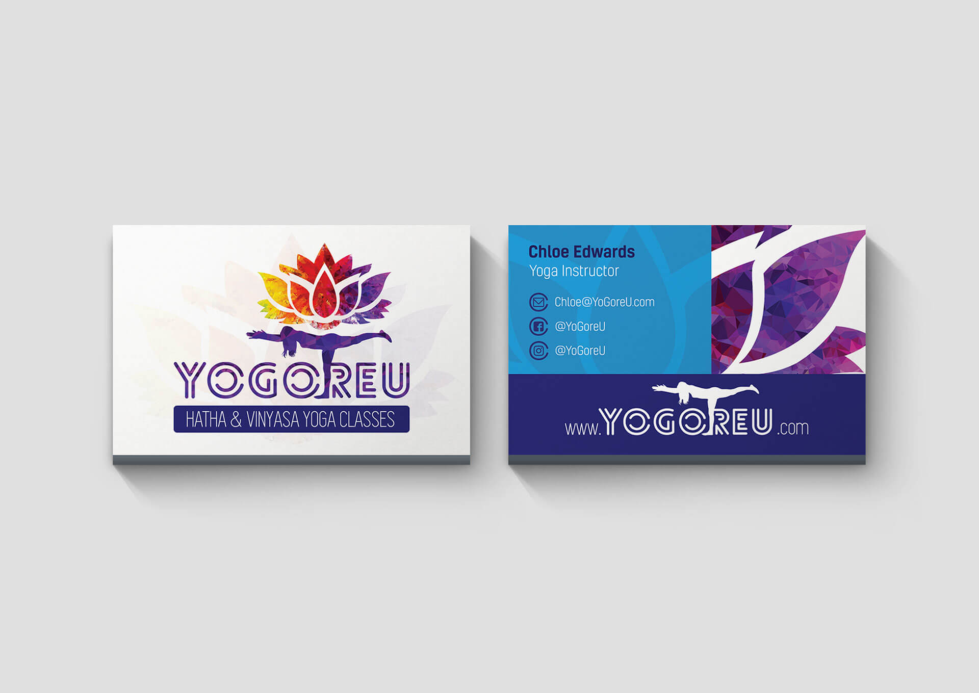 Yogoreu Business Cards