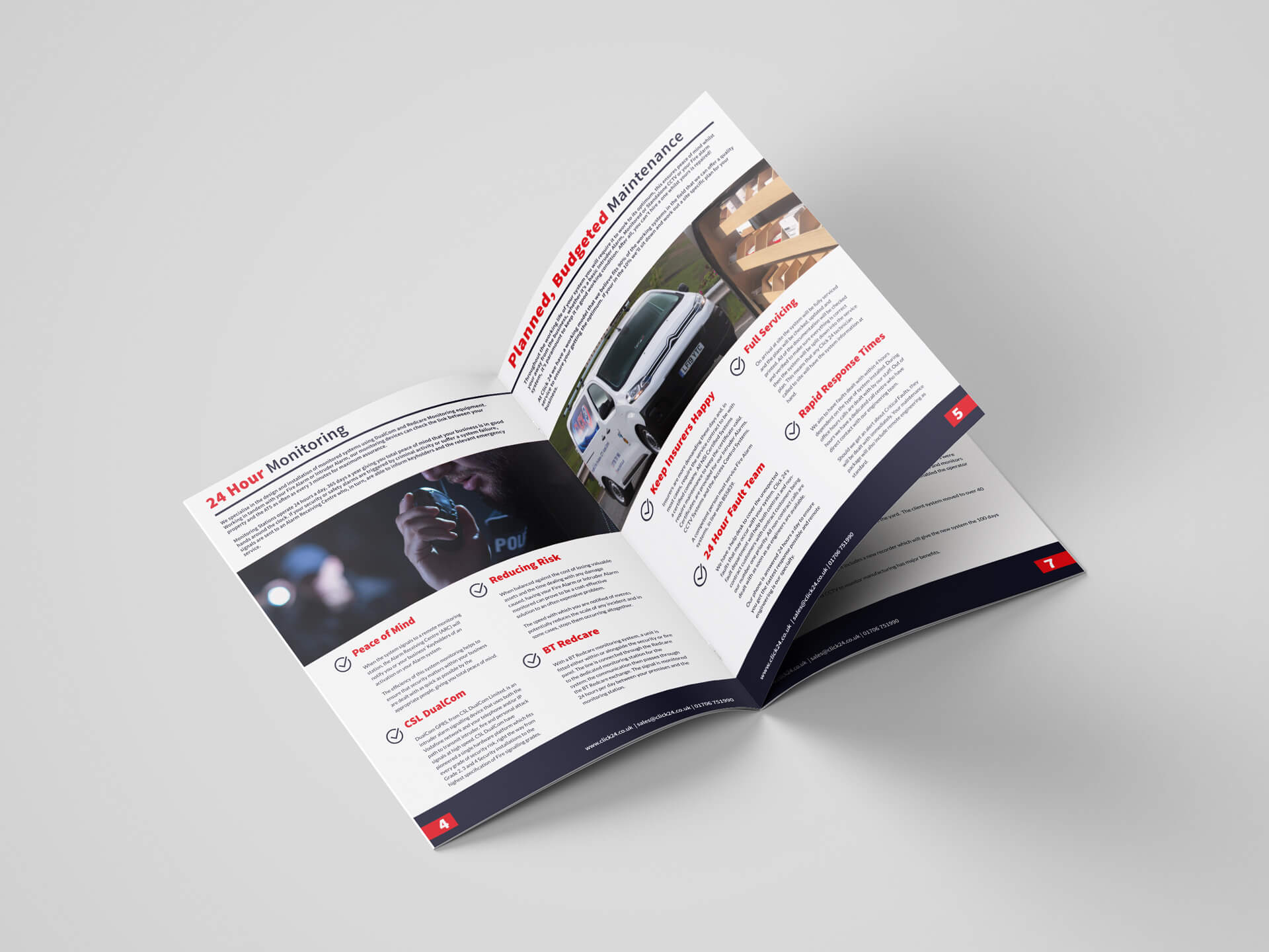 Click 24 A4 Brochure