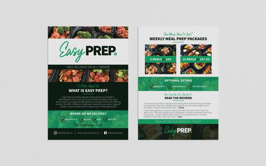 Easy Prep | A5 Leaflet