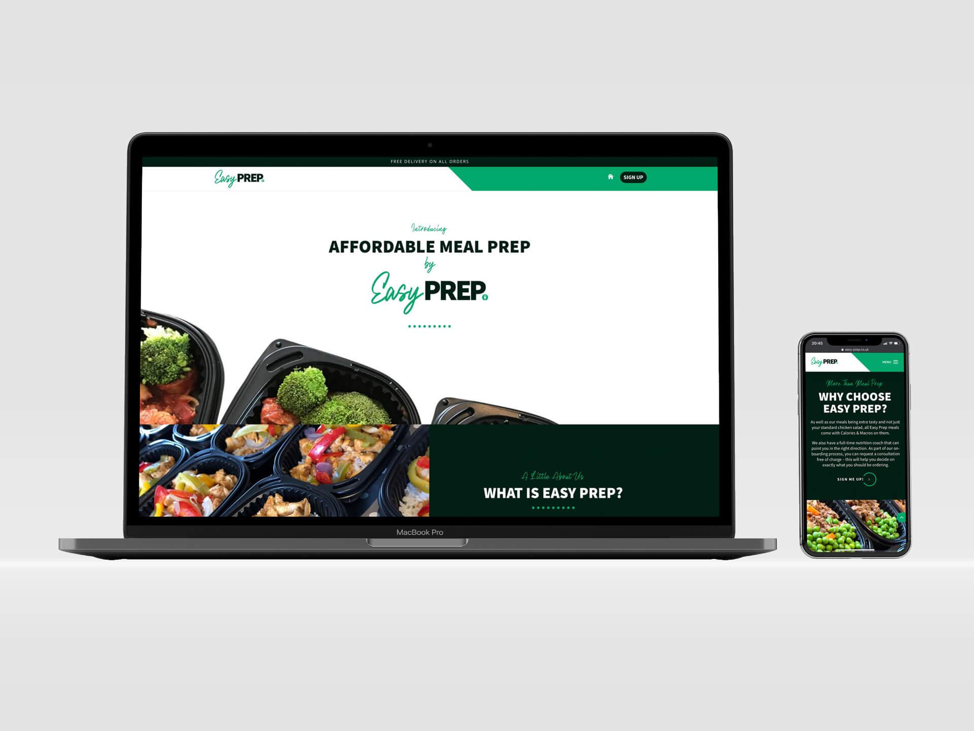 Easy Prep Web Design