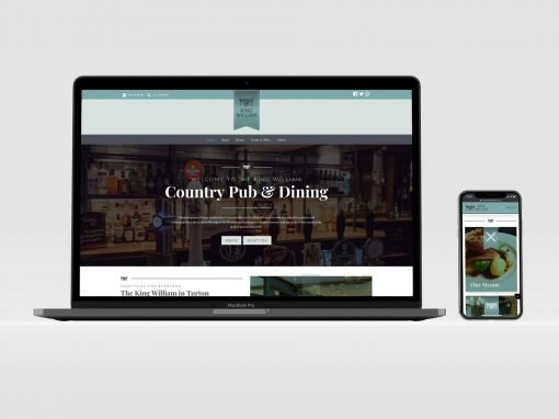 King William Pub | Brochure Website