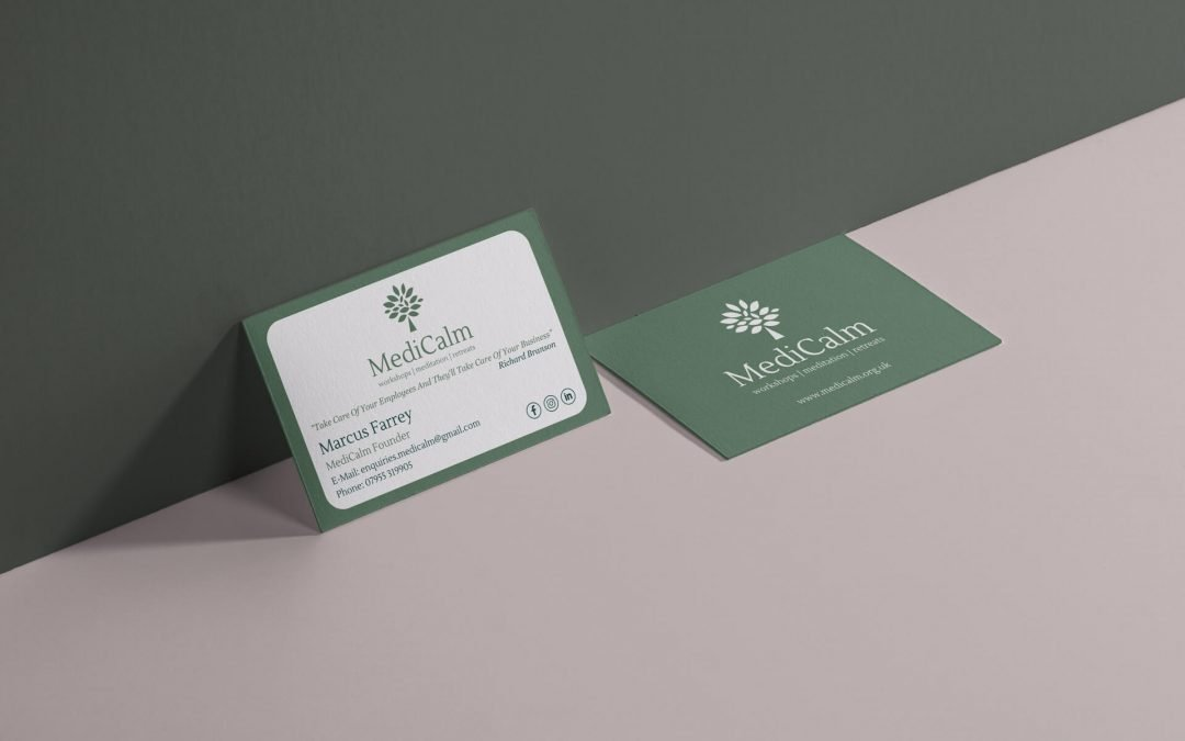MediCalm | Business Card