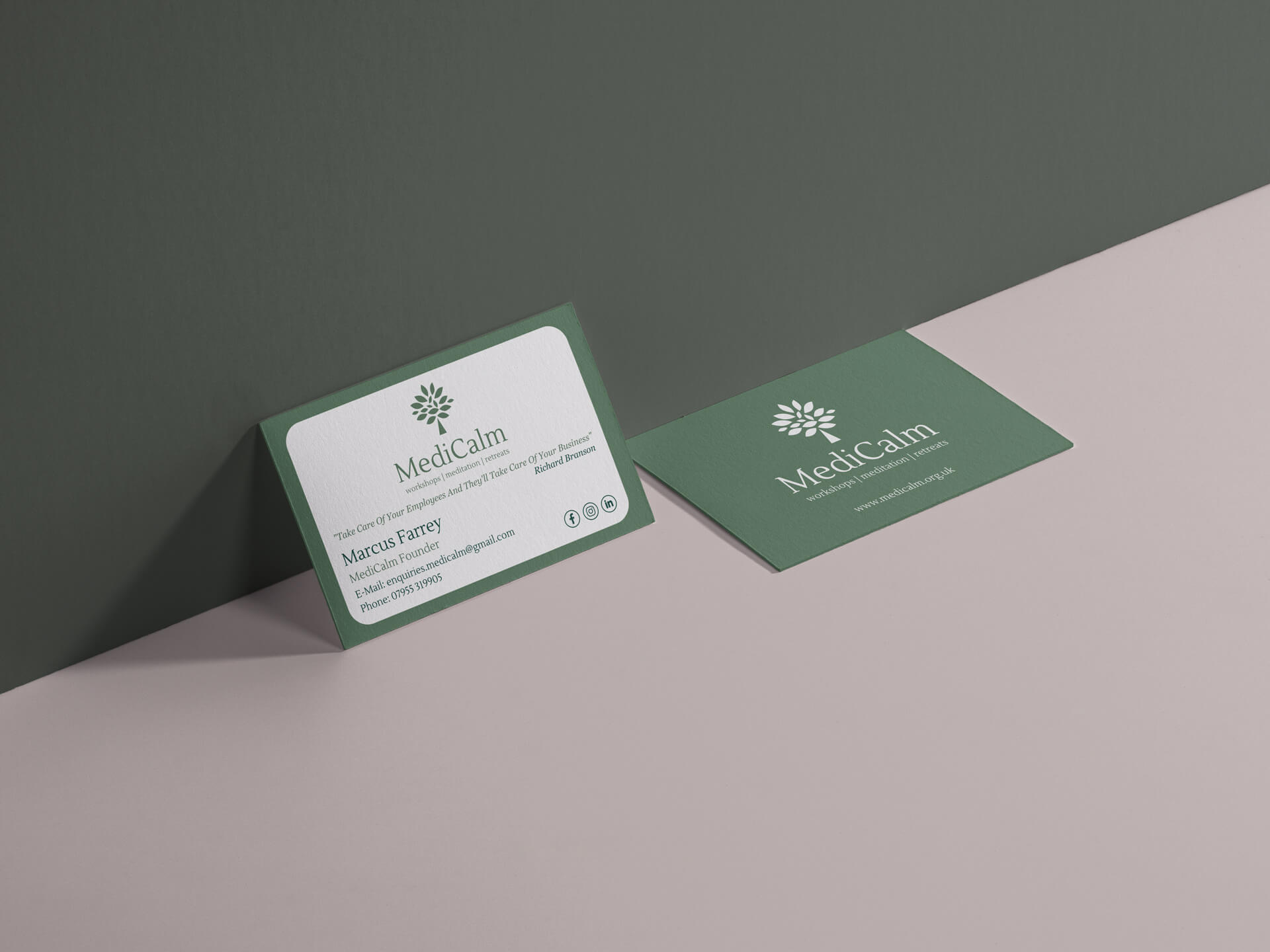 Medicalm Business Card