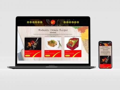 Yeungs Chinese Foods | Brochure Website